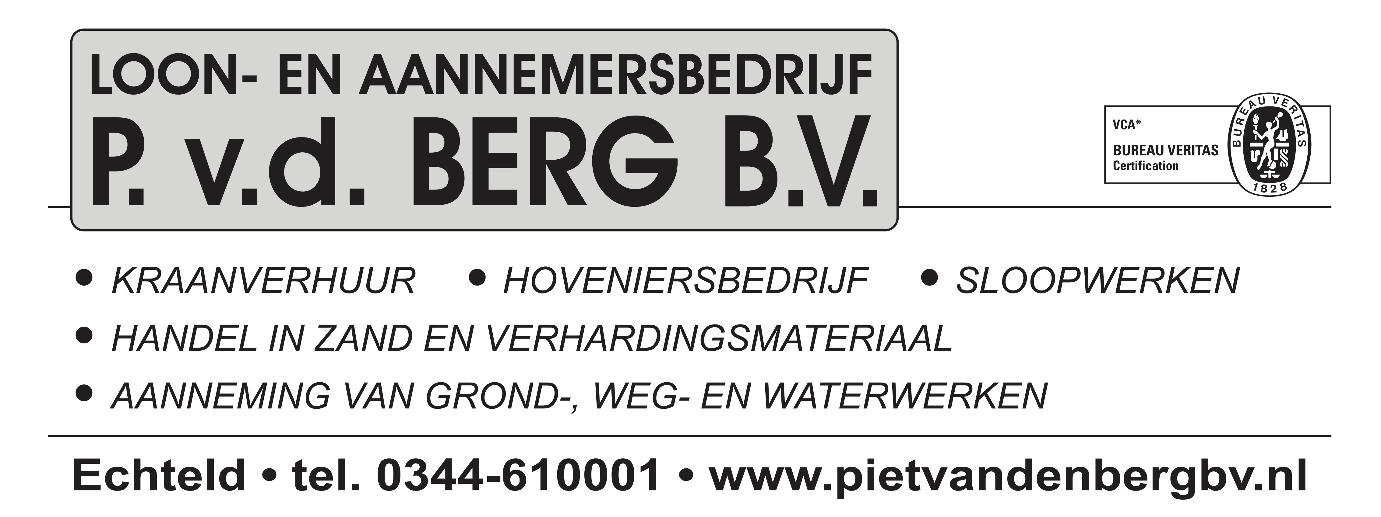 Piet van den Berg bv